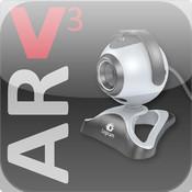 V3 AR Webcam record live webcam