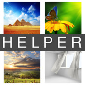 Helper for 4 Pics 1 Word!