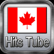 Canada Hits Music YouTube non-stop play. Canada HitsTube map canada physical