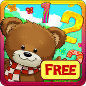 Learning Numbers for Kids Free: games to teach numbers from 1 to 10 by Hedgehog Academy point numbers