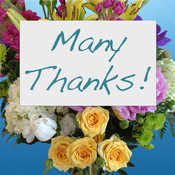 Many Thanks - Print in YOUR Handwriting