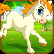 Princess Unicorn - Day Race in Hay Forest