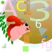 Squirrel Letters Numbers and Shapes
