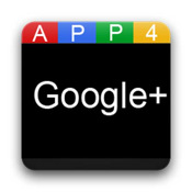 App 4 Google+ google cloud