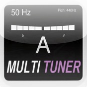 MultiTuner♭ freeware tuner metronome