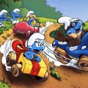 Smurf Racer racer racing road