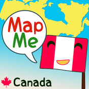 MapMe - Canada map canada physical