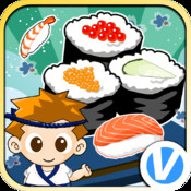 TK Sushi Shop ipad and