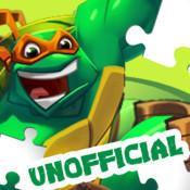 Action puzzle for teenage mutant ninja turtles