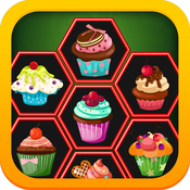 Cup Cakes - Collect Candy In One Row