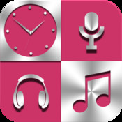 Pro Radio Media 8 in 1 Music Clock Set
