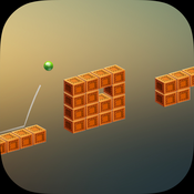 Ball Jumpy - Adventures of ball on cubes path