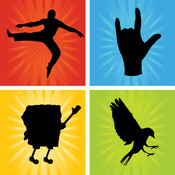 Shadow Mania - (Guess the Shadows and Shapes Icon Trivia Pop Quiz Word Game!) Free pop quiz icon