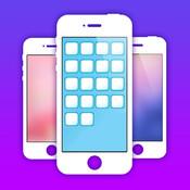 Wallpaper Shelves & App Icon Skins for iOS7