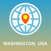 Washington, USA Map - Offline Map, POI, GPS, Directions