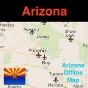Arizona/Phoenix Offline Map & Navigation & POI & Travel Guide & Wikipedia with Traffic Cameras