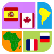 Flag & Country Icon Quiz - Guess What`s the Icon?
