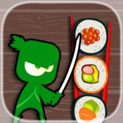 Green Destiny Sushi - PRO - Steel Ninja Roll Puzzle Game
