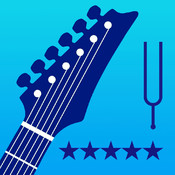 Electric Guitar Tuner - LP Tuner Pro HD - Detects the optimal tuning using built-in microphone with precision and ease! freeware tuner metronome