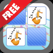 Free Memo Game Music Instruments Cartoon