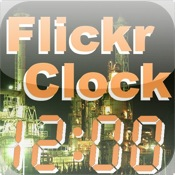 Flickr Clock