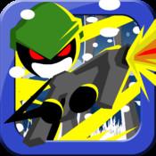 Arctic Stickman Sniper Run HD Full Version