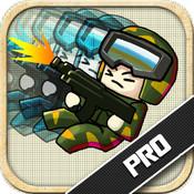 Doodle Commando Shooter Pro: Battlefield Combat Warfare