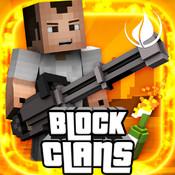 Block Clans - 3D Pixel Survival FPS & TPS Gun Shooter Pixel Game