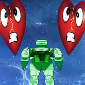 Broken Heart Invasion - collect Hug, Love and Heart for Your Valentine