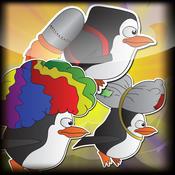 Antarctic Pals- Penguins Of Madagascar Version