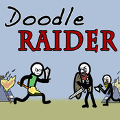Doodle Raider tomb raider gun holster