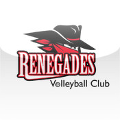 Renegades App hot volleyball players