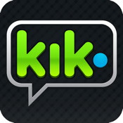 Kik Messenger real time conversations