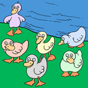 six little ducks download