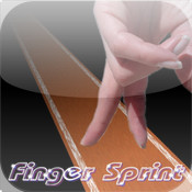 Finger Sprint sprint car