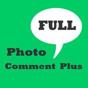 Photo Comment Plus Full comment