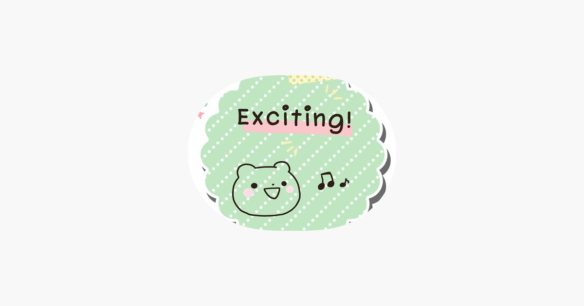 Cute bear of sticker note