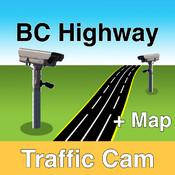 BC Highway Traffic Cam +Map
