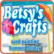 Betsy`s Crafts Summer Sand Painting Kids Game