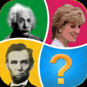 Word Pic Quiz Influential Icons - name the people who shape our world 100 influential black