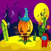 Angry Pumpkins Match`Em - A fun & addictive line puzzle game (brain relaxing games)