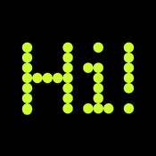 Banner Display - Scroll text message on a LED scrolling marquee billboard / ticker scrolling text ticker