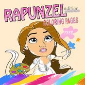 Coloring Book for Rapunzel Version