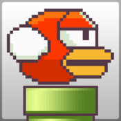 Flying Bird: red - free flappy racing games