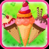 Ice cream Factory - Make Sweet, Tasty Scoops of Strawberry, Chocolate, Raspberry, Banana, Mango, Coffee, Grapes, Pomegranate, kiwi Icecream