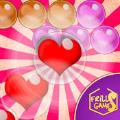 Bubble Shooter Love Valentine - A deluxe match 3 puzzle special for Valentine`s day
