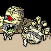 The Mummy Maze duct tape mummy