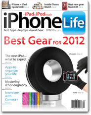 iPhone Life Mag iphone and