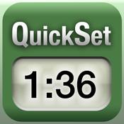 QuickSet timer translator timer
