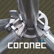Coronet Scaffold patent scaffold